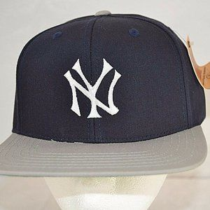 New York Yankees Blue/Grey Baseball Cap Snapback